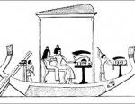 В Египте найдена погребальная лодка